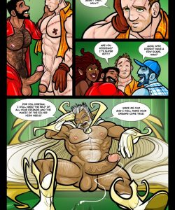 The Wizard Of Jizz 027 and Gay furries comics