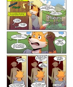 Thievery 2 - Issue 1 - The Call 002 and Gay furries comics