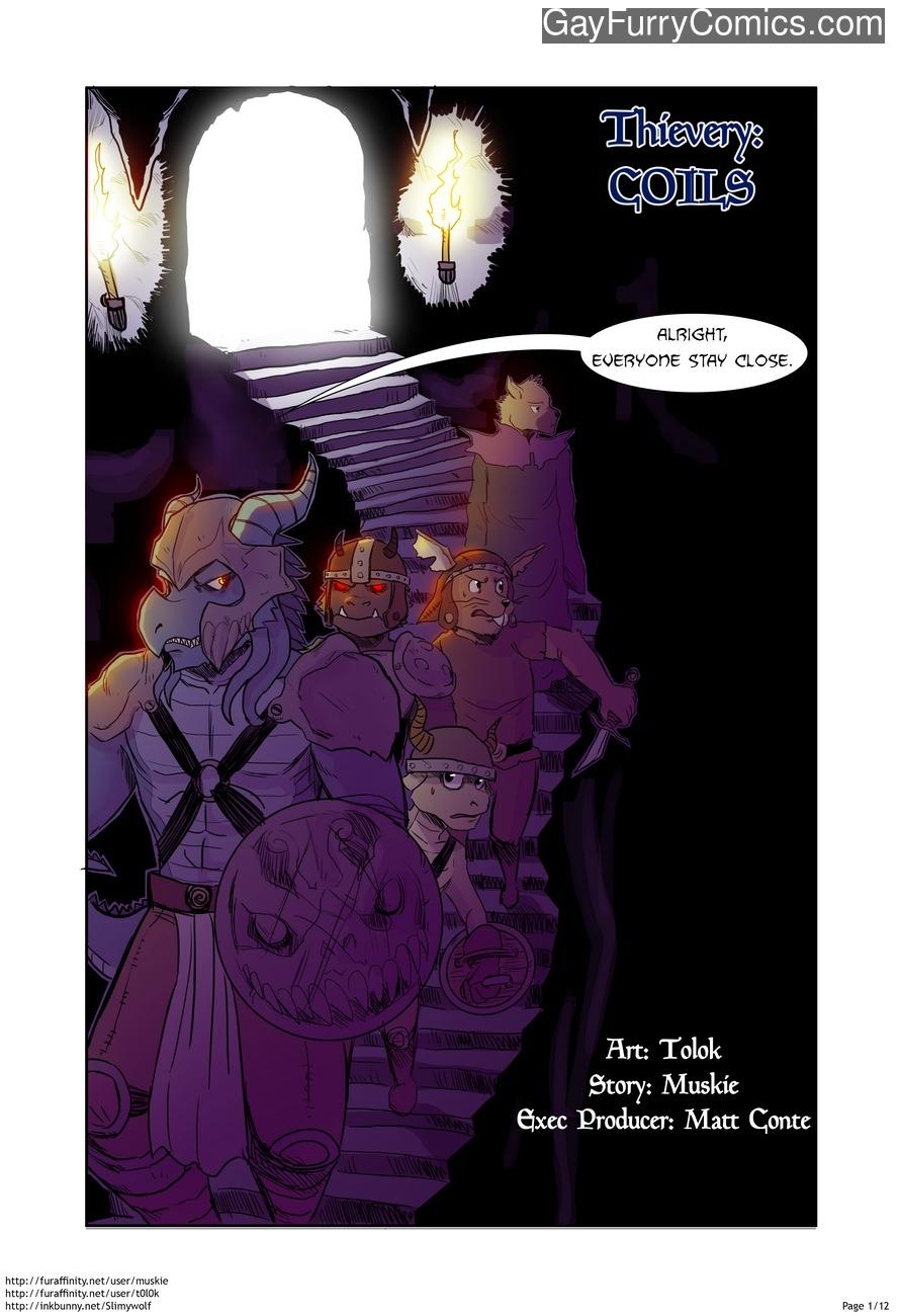 Thievery 3 gay furry comic