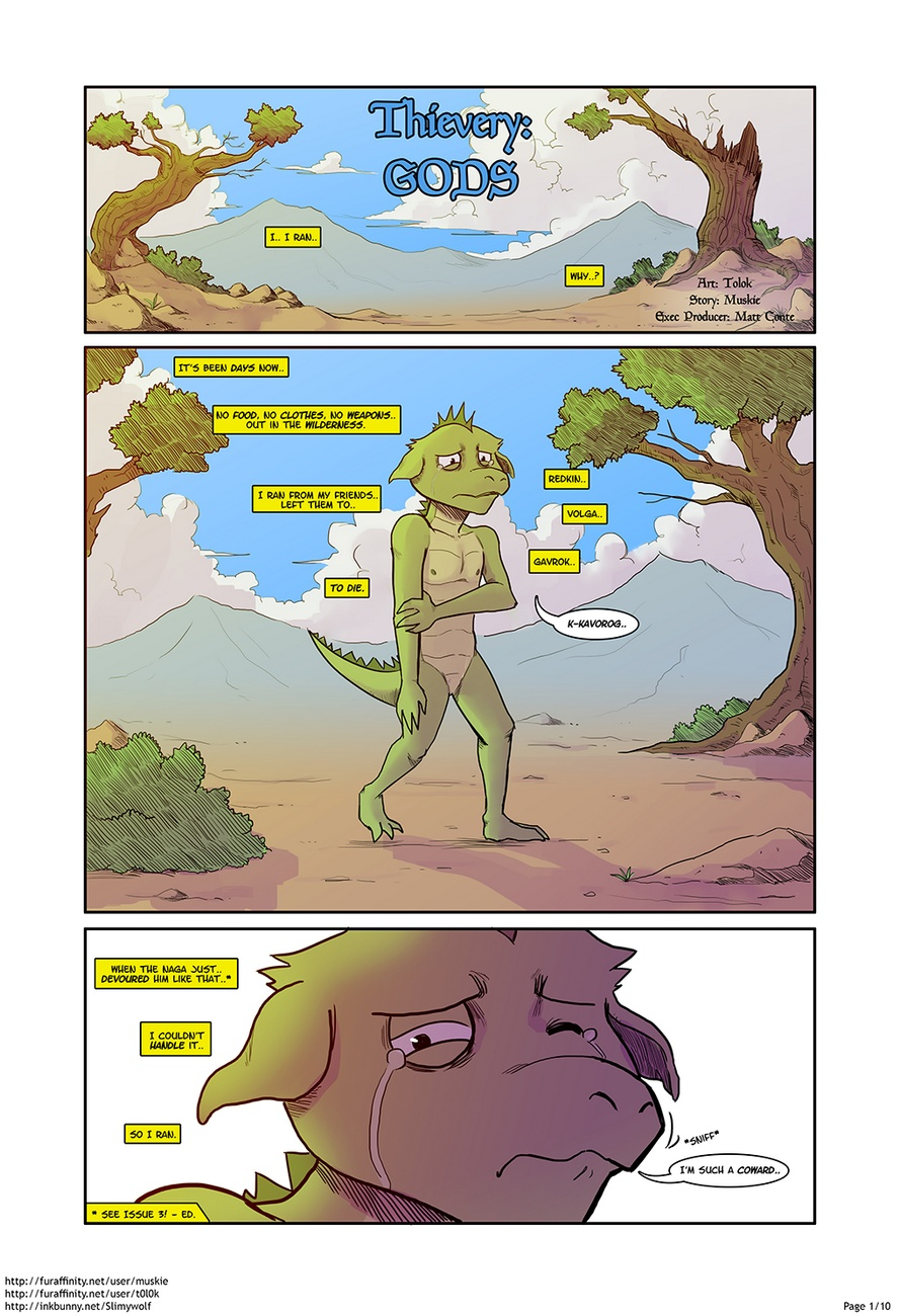 Thievery 4 gay furry comic