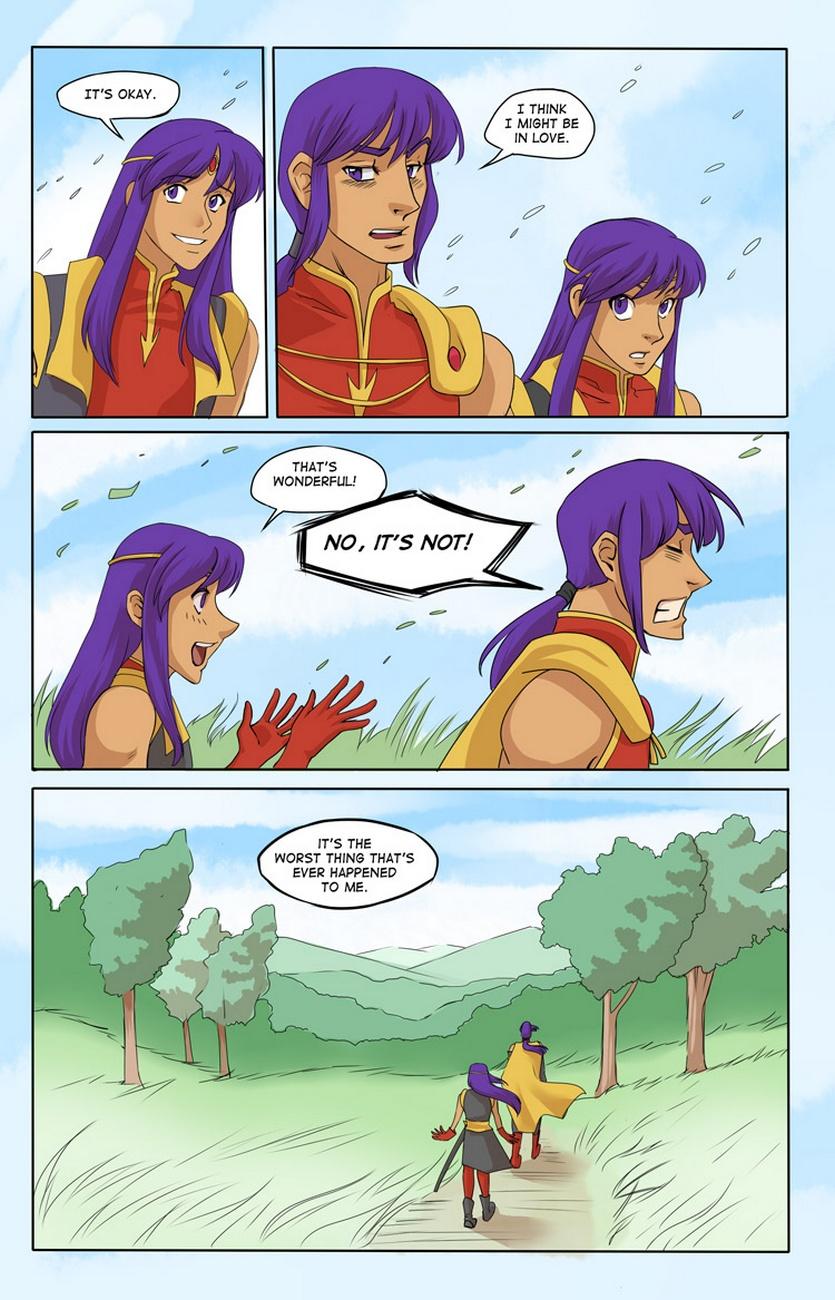 Thorn Prince 4 – Enemies Closer gay furry comic
