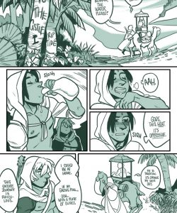 To The Castle 1 gay furry comic