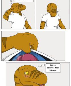 Tough Spot 020 and Gay furries comics