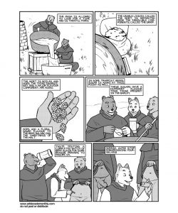 Trappist Traditions 004 and Gay furries comics