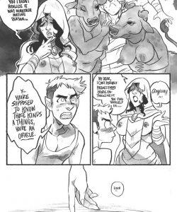 Treasure Hunter 003 and Gay furries comics