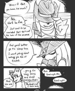 Trick With The Hat 007 and Gay furries comics