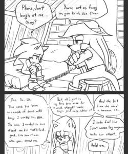 Trick With The Hat 041 and Gay furries comics