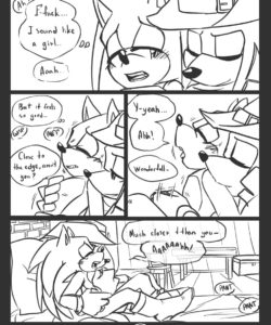 Trick With The Hat 049 and Gay furries comics