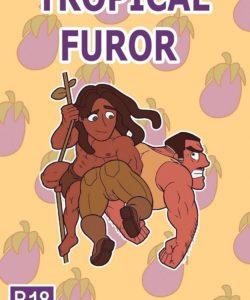 Tropical Furor 001 and Gay furries comics