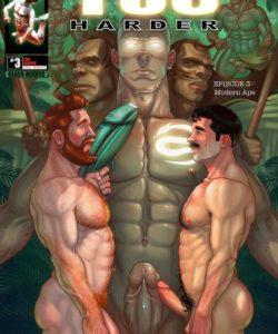 Tug Harder 3 001 and Gay furries comics