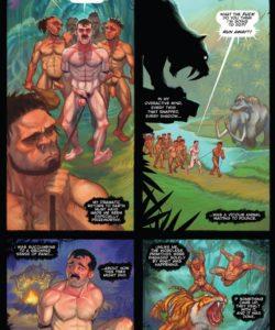 Tug Harder 3 005 and Gay furries comics