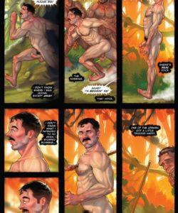 Tug Harder 3 009 and Gay furries comics