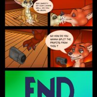 Two Foxes One Bun gay furry comic