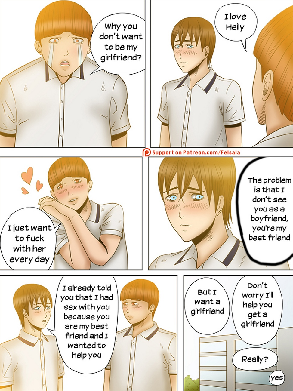 Two Sides 5 gay furry comic