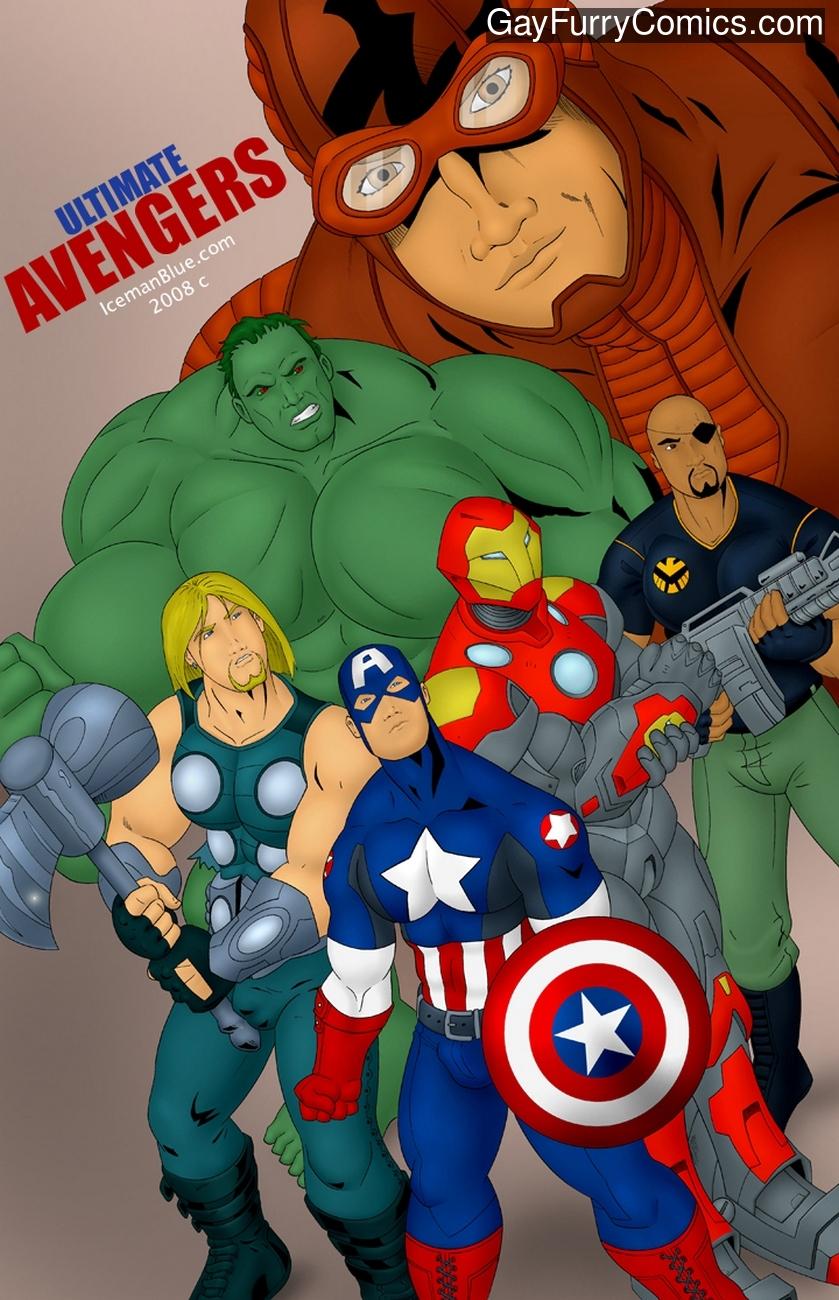 Ultimate Avengers gay furries