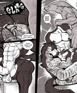 Ultimate Bromance 008 and Gay furries comics