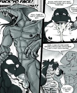 Ultimate Bromance 009 and Gay furries comics