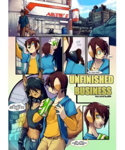 Unfinished Business 002 and Gay furries comics