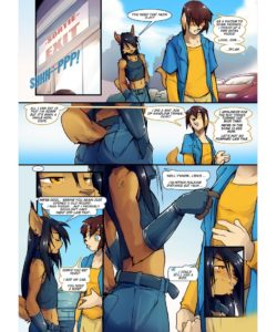 Unfinished Business 006 and Gay furries comics