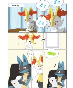 Urges And Curiosity 003 and Gay furries comics