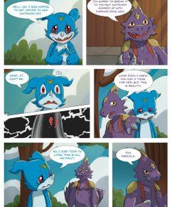 Veemon's Happy Day 004 and Gay furries comics