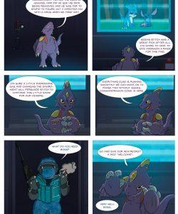 Veemon's Happy Day 014 and Gay furries comics