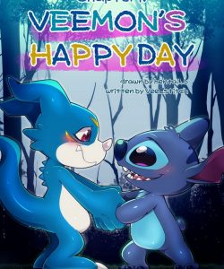 Veemon's Happy Day 1 001 and Gay furries comics