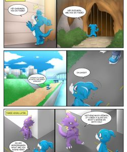 Veemon's Happy Day 1 003 and Gay furries comics