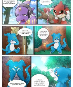 Veemon's Happy Day 1 005 and Gay furries comics