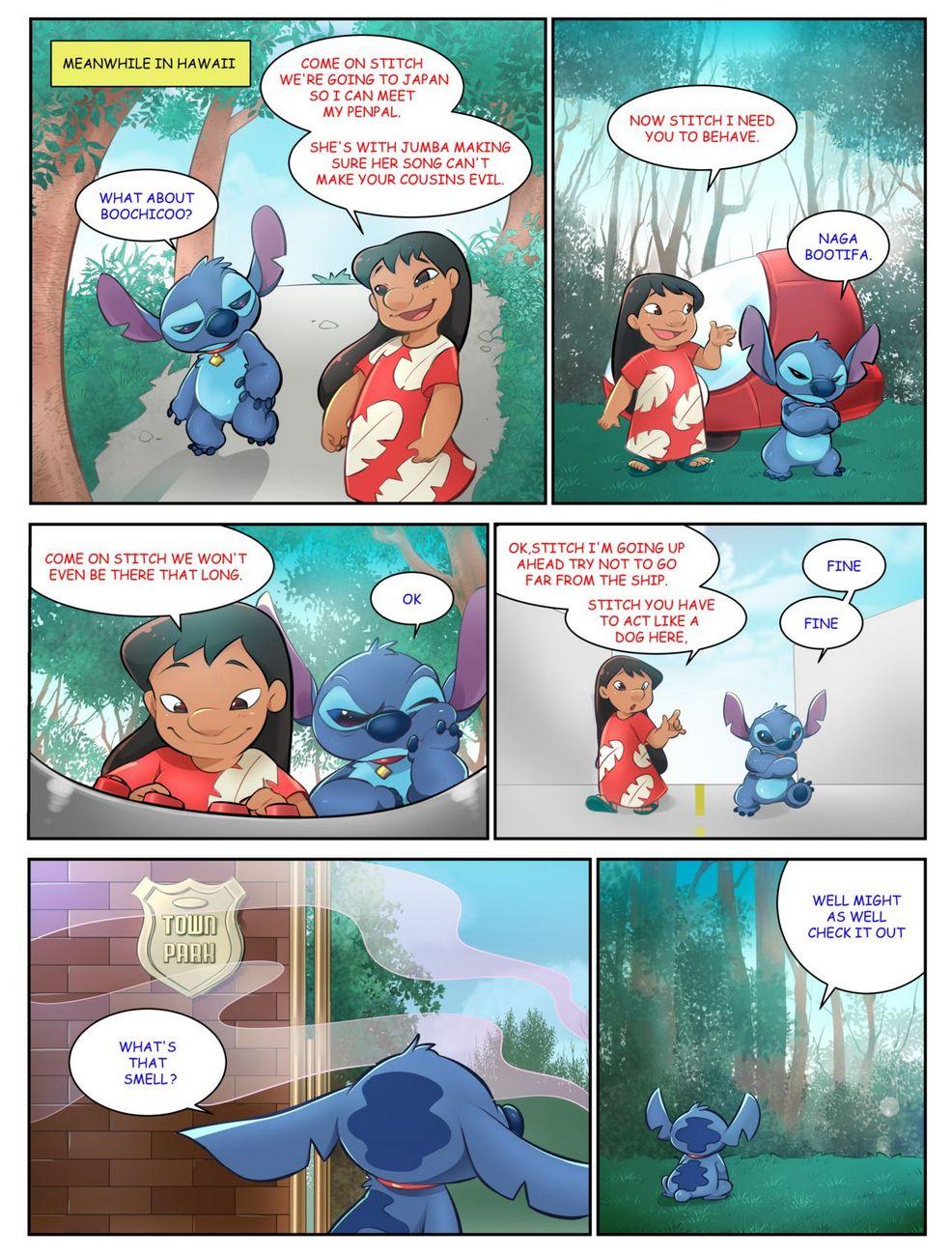 Veemon's Happy Day 1 gay furry comic