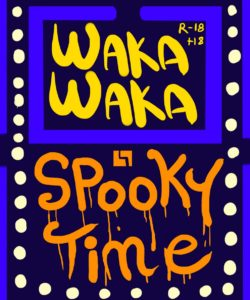 Waka Waka - Spooky Time 001 and Gay furries comics