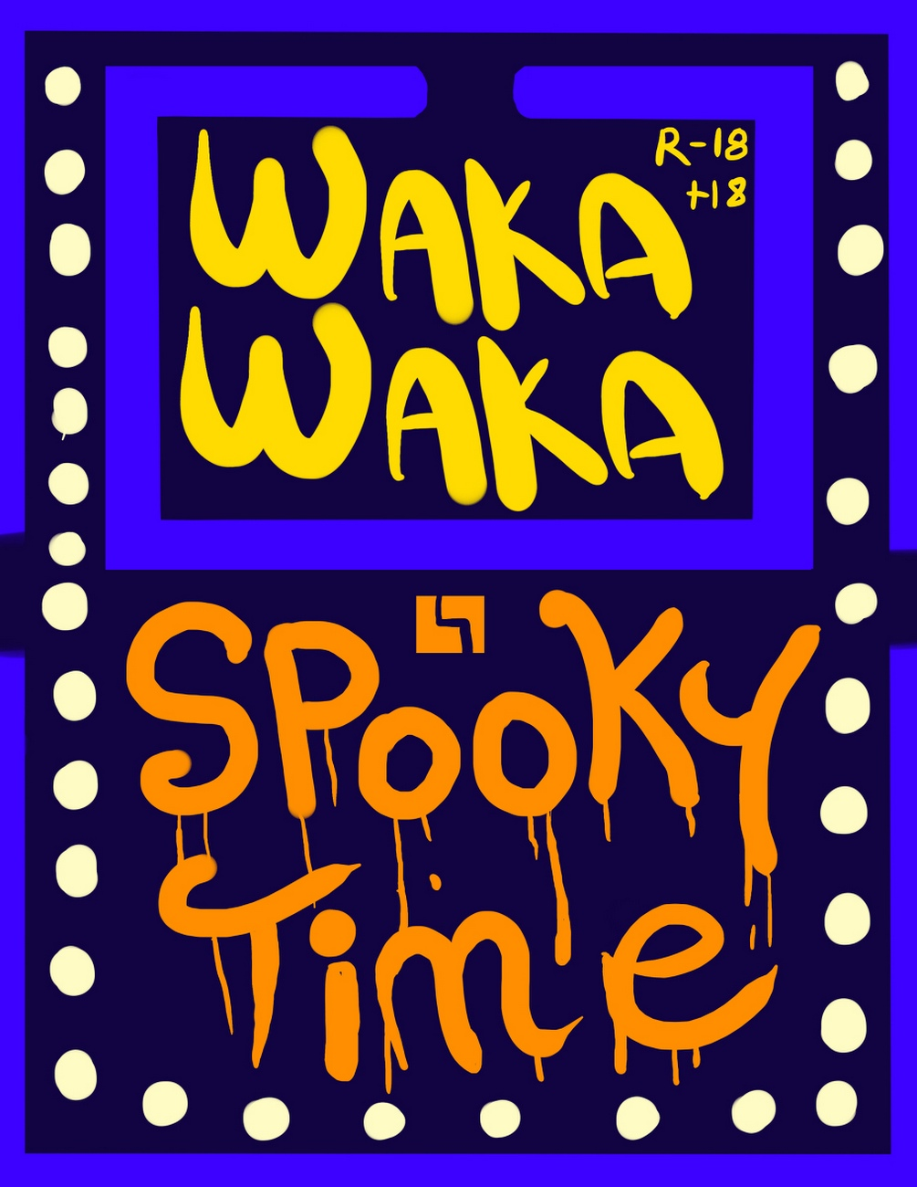 Waka Waka – Spooky Time gay furry comic