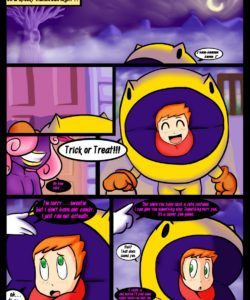 Waka Waka - Spooky Time 002 and Gay furries comics