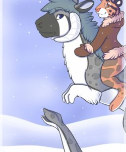 Warmth In Winter 001 and Gay furries comics