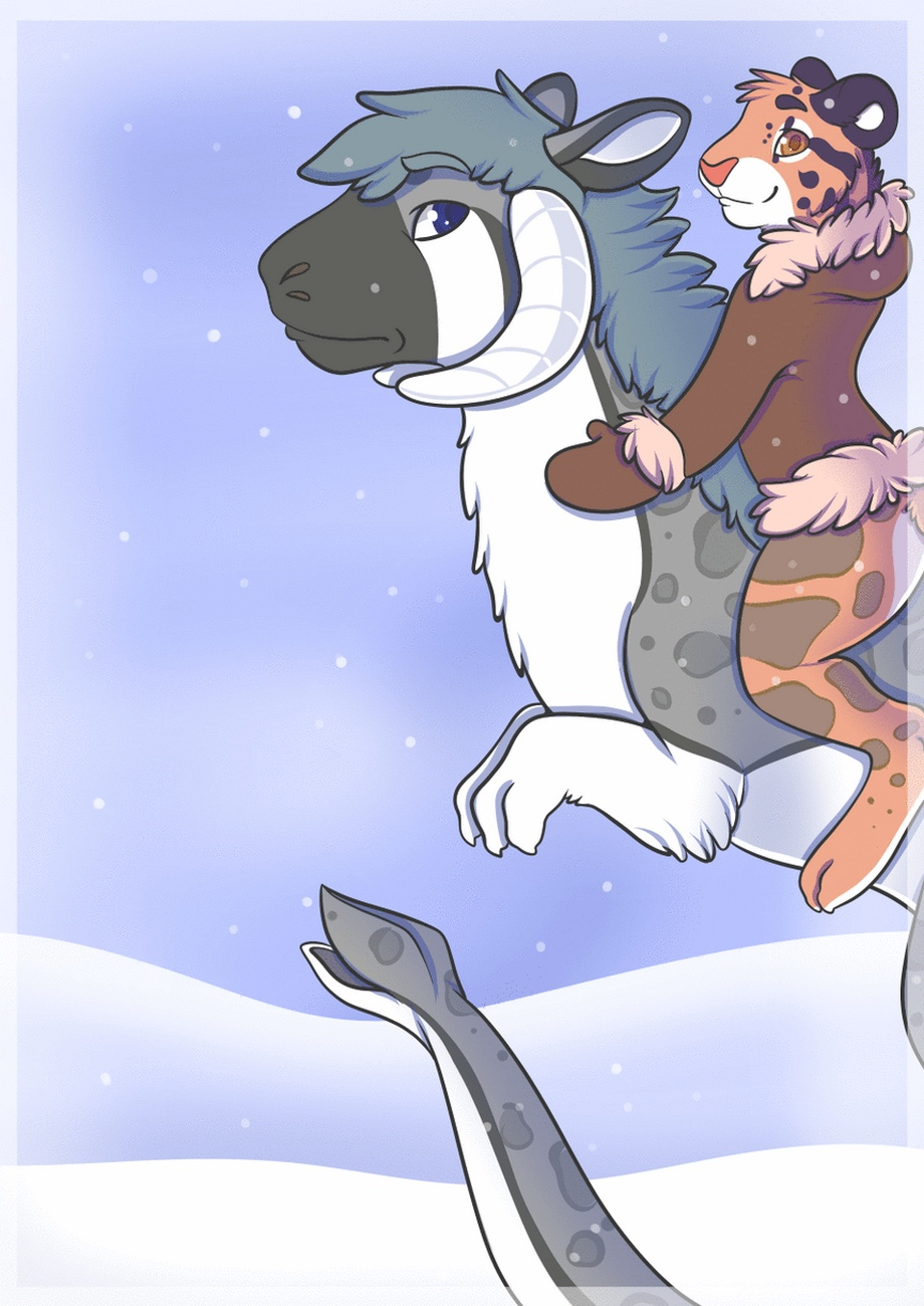 Warmth In Winter gay furry comic