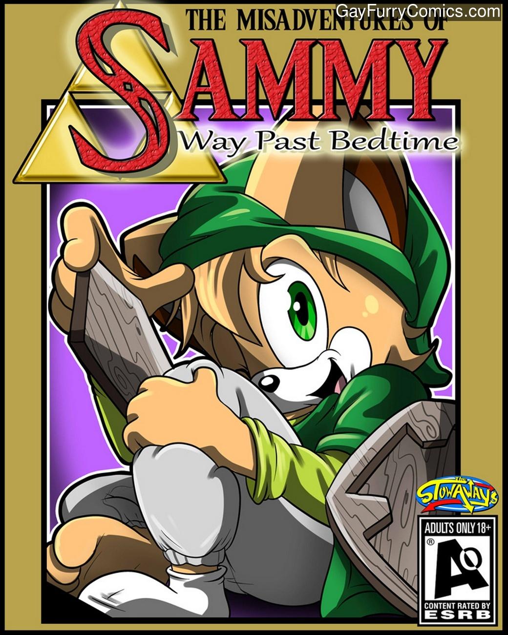 Way Past Bedtime gay furry comic