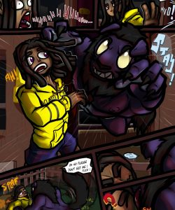 Werewolf Woes 004 and Gay furries comics