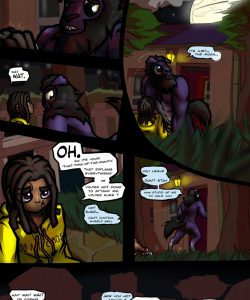 Werewolf Woes 005 and Gay furries comics