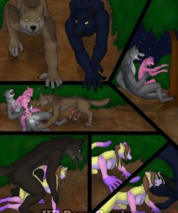 Werewolves 006 and Gay furries comics