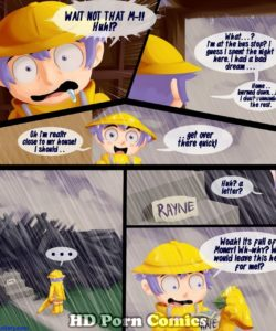 When It Raynes It Pours 010 and Gay furries comics