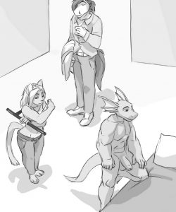 Who You Gonna Call 012 and Gay furries comics