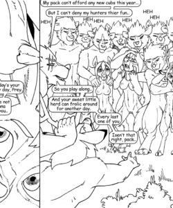 Wolf Hunt 004 and Gay furries comics