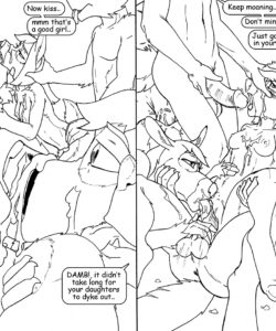 Wolf Hunt 007 and Gay furries comics