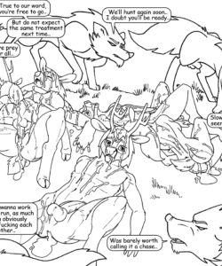 Wolf Hunt 008 and Gay furries comics