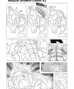 WolfieCanem's Muscle Growth Comic 1 003 and Gay furries comics