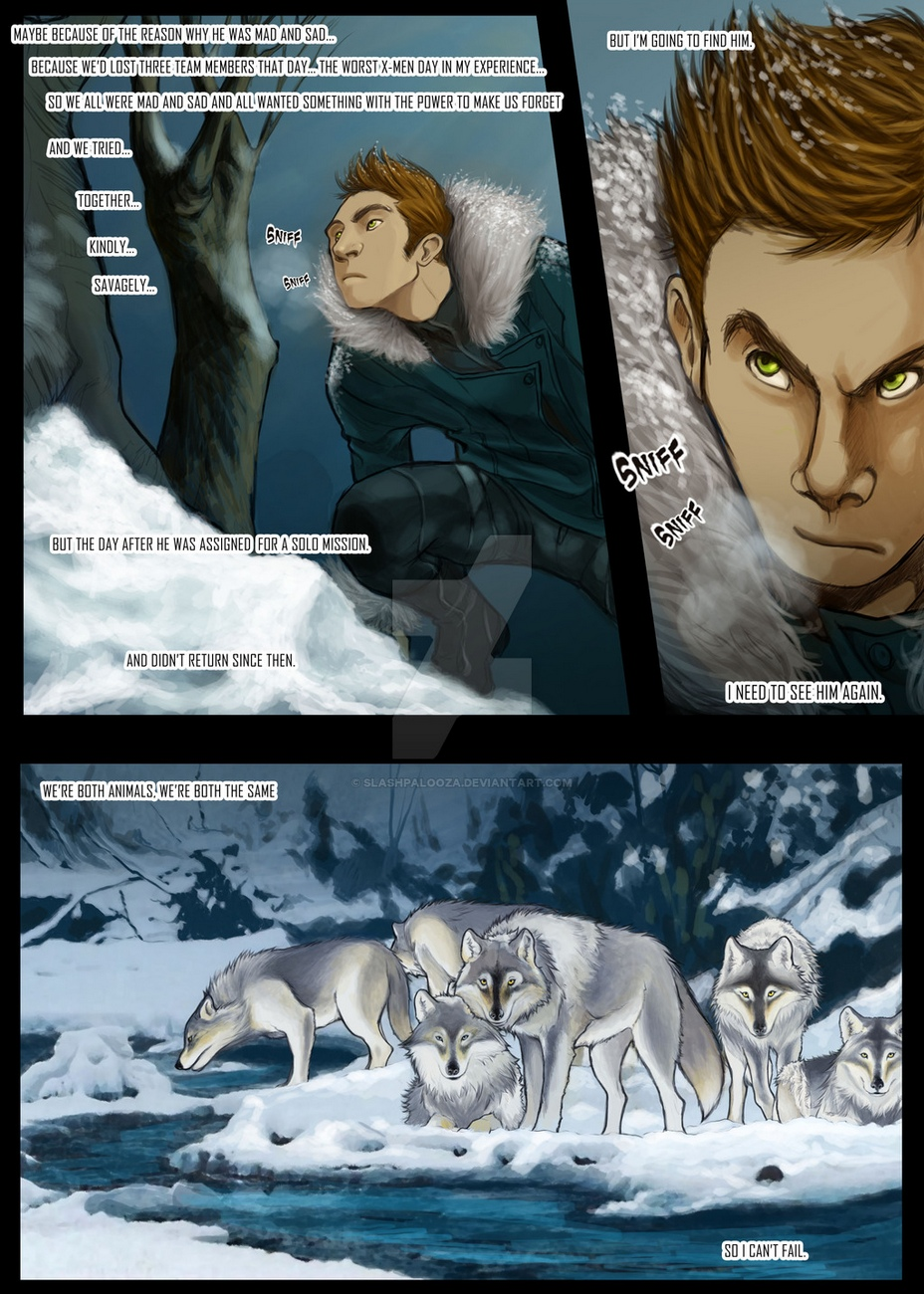 Wolverine And Nightwolf gay furry comic