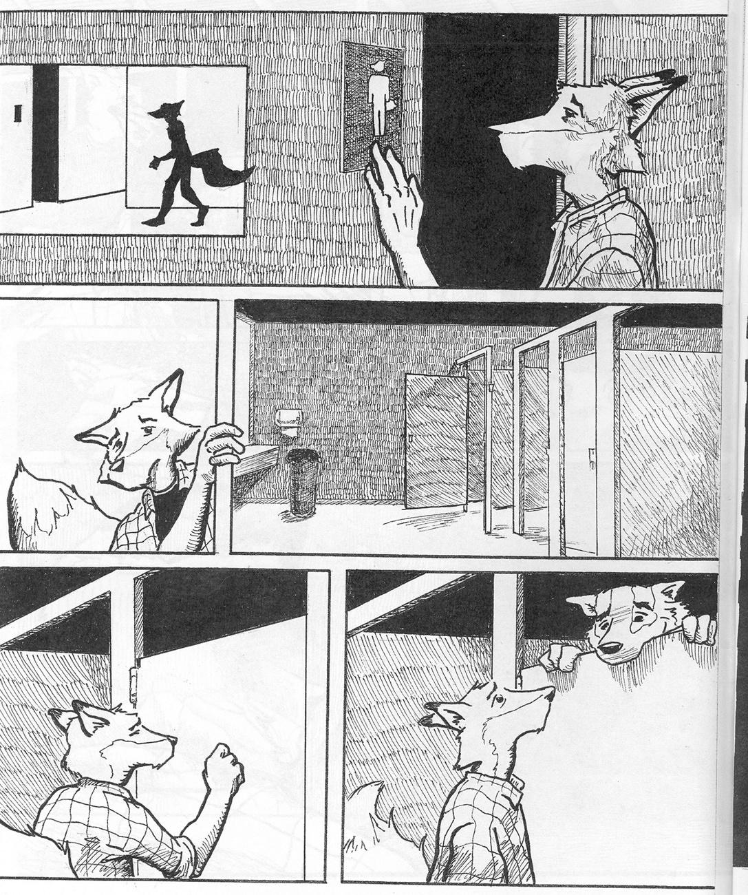 Woof gay furry comic