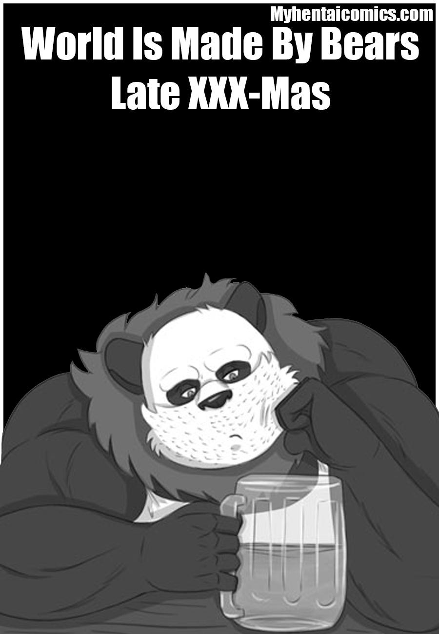 World Is Made By Bears – Late XXX-Mas gay furry comic