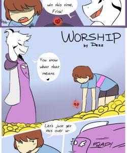 Worship gay furry comic