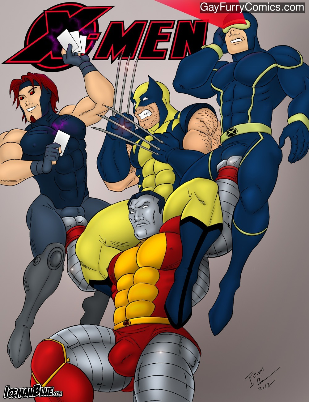 X-Men gay furry comic